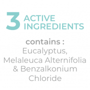 CLARITY AIR DISINFECTANT 3 active ingredients
